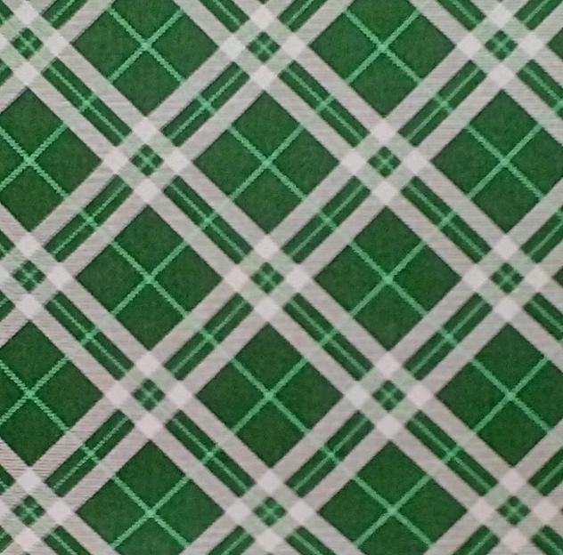 Babero estampado 50-50 verde oscuro color